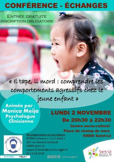 2/11/20 Conférence Petite enfance à Saint Lo